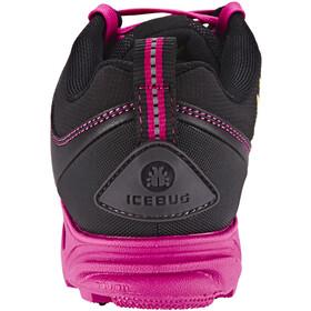 Icebug Pytho3 BUGrip Chaussures Femme, Black/Peony
